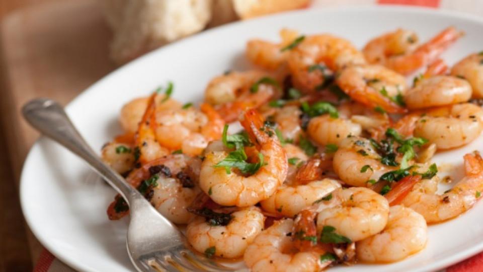 Скаридите са добър хранителен избор за превенция на високото кръвно налягане