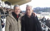 Легенди на Локо Пд и Ботев Пд гледат заедно мача на Лаута