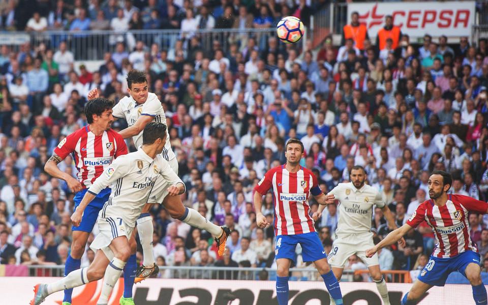 Гризман закичи Реал с отровен гол в дербито