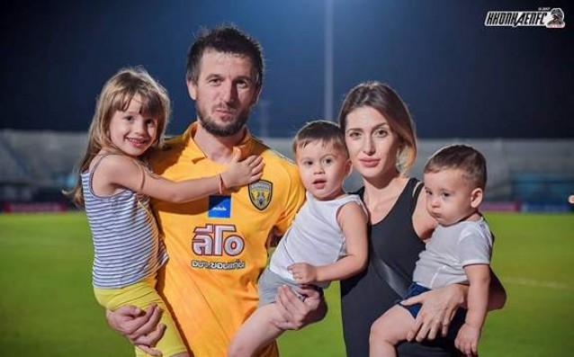 Дарко Тасевски и семейството му източник: Личен архив, Дарко Тасевски