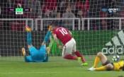 И най-слабото нападение огорчи защитата на Арсенал