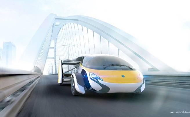 Прототипът на летящата кола