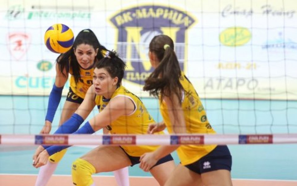 Марица и Левски почнаха с победи полуфиналите в женския волейбол