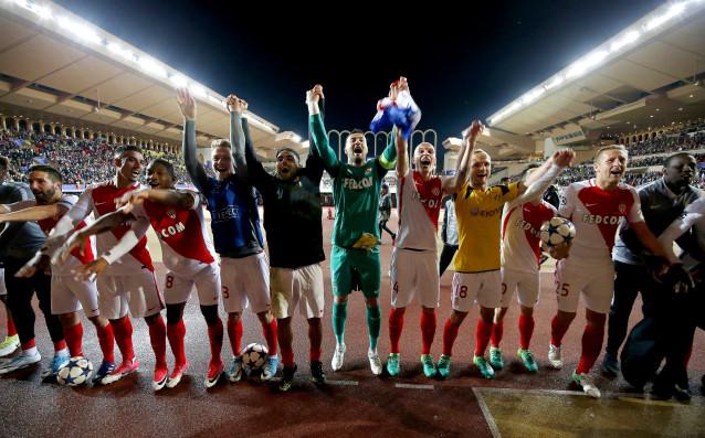 Играчите на Монако източник: БГНЕС