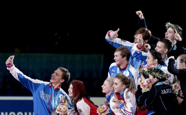 Япония, Световно отборно първенство по фигурно пързаляне<strong> източник: БГНЕС</strong>