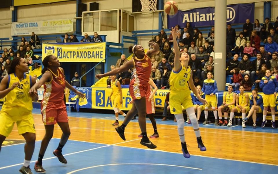Монтана изненада Хасково в първия мач от финала при баскетболистките