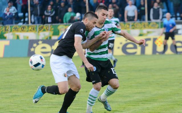Решителните мигове от сезона в Първа лига вече чукат на