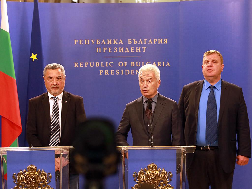 Консултации на Държавния глава с парламентарно представените партии