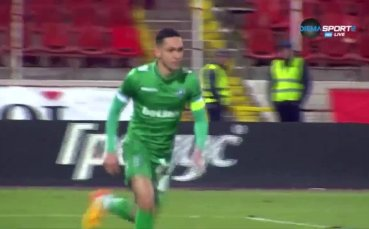 Голът на Марселиньо срещу ЦСКА