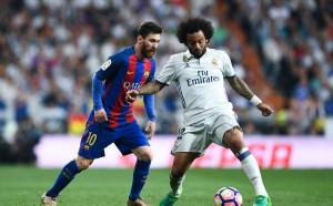 Скандално обяснение от Реал: Марсело се предпазвал, разбивайки устата на Меси