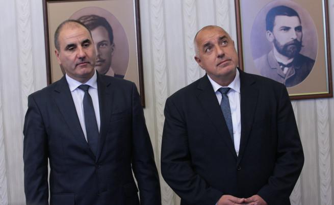 Цветан Цветанов и Бойко Борисов