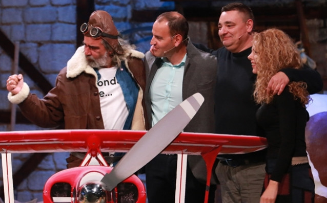 Самолетен дуел между капитаните Иван Ласкин и Андрей Слабаков определя победителя в шоуто този петък от 21.00 ч. по NOVA източник: NOVA