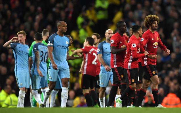 Скандална проява беляза пълните нули на Юнайтед и Сити