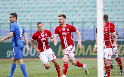 НА ЖИВО: ЦСКА с трети залп към Левски, сините нямат отговор