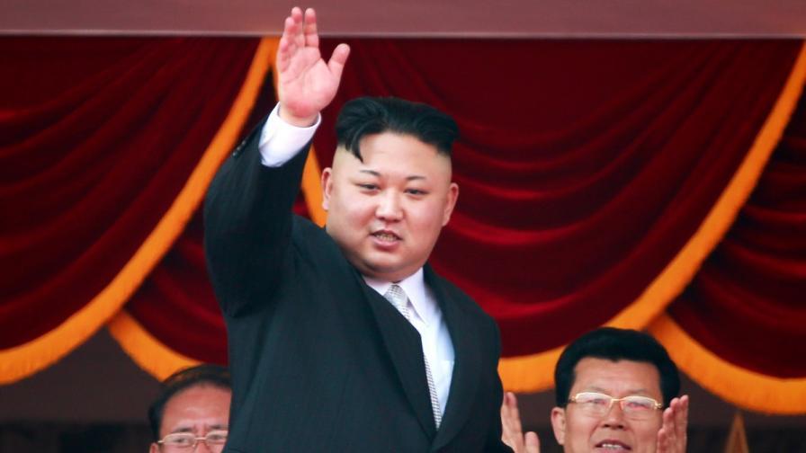 Лидерът на Северна Корея Ким Чен-ун