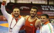 Еврошампионът ни в борбата: Мечтаех да тичам с българското знаме
