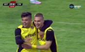 Втори гол за Ботев във вратата на Славия
