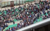 Феновете на Интер с яростен протест