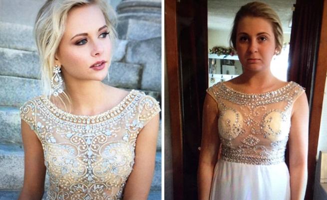 Момичета споделят бални рокли, за които съжаляват, че са купили онлайн