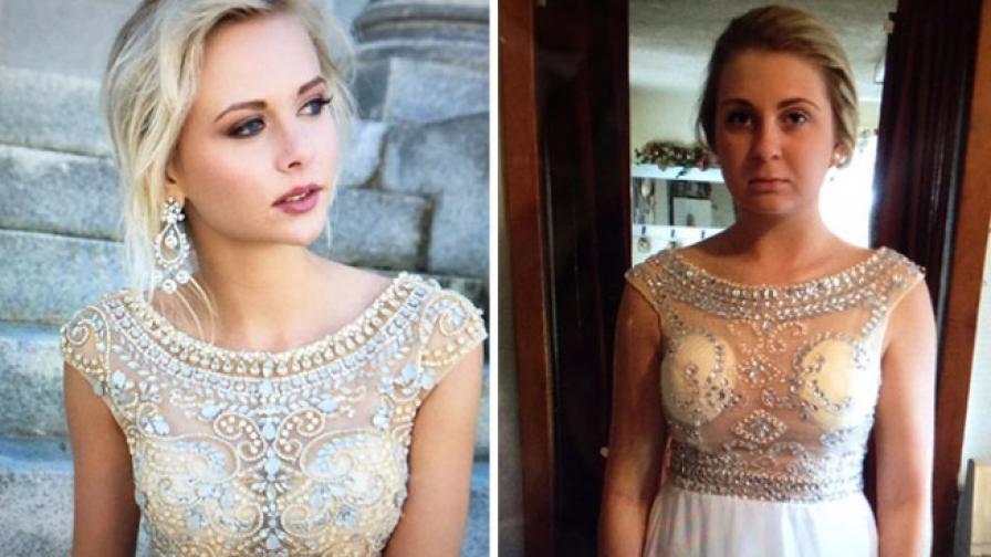 66b30c6417d Момичета споделят бални рокли, за които съжаляват, че са купили онлайн -  Любопитно | Vesti.bg