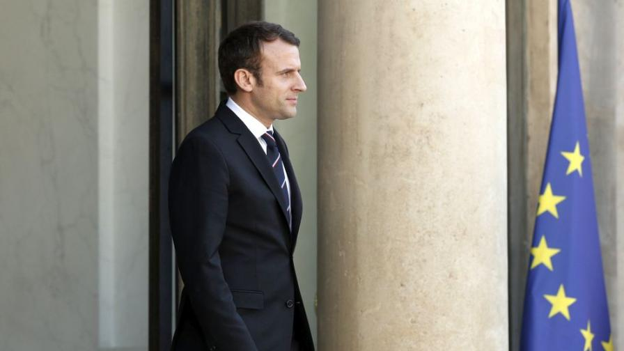 Партията на Макрон - фаворит на изборите във Франция
