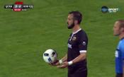 Павел Виданов с червен картон срещу ЦСКА