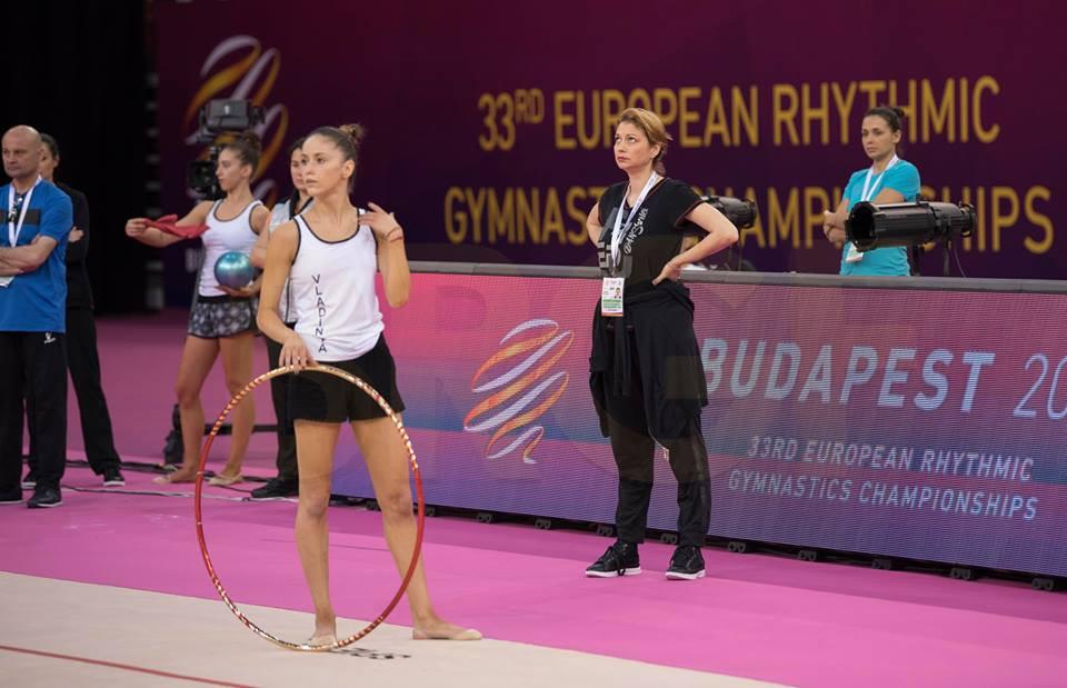 Втора подиум тренировка на грациите ни в Будапеща<strong> източник: facebook.com/BGRGfederation</strong>