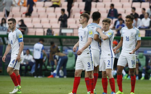 Младежкият тим на Англия източник: БГНЕС