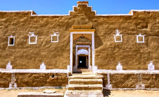 Типична сграда в изоставеното селище Кулдара