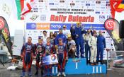 """Hyundai Racing Trophy с тройна победа в RC5 на рали """"България"""""""
