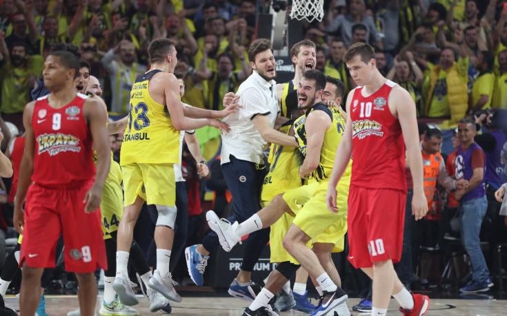 Фенербахче е новият баскетболен крал на Европа