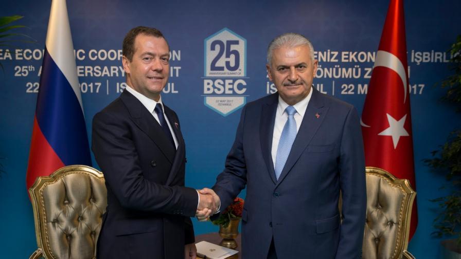 """Русия преговаря с България за """"Турски поток"""""""