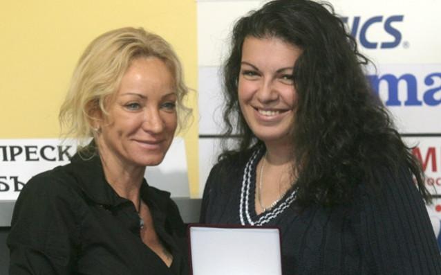 Антоанета Бонева и Мария Гроздева<strong> източник: БГНЕС</strong>