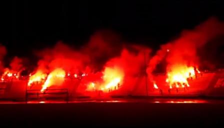 На живо: Левски започна празненствата в полунощ