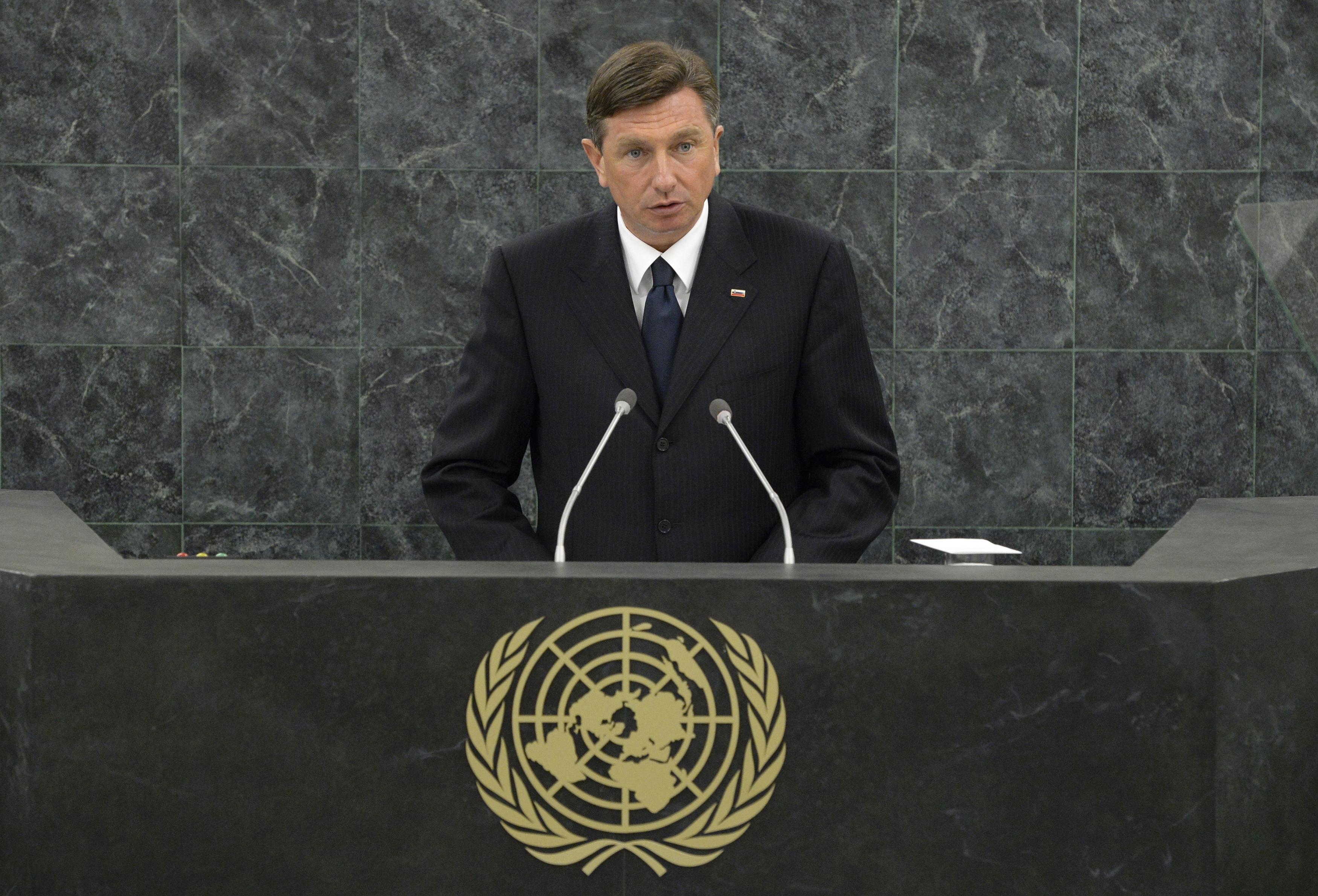 Борут Пахор, президентът на Словения