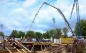 Строежът на новия сектор В на Лудогорец Арена върви с пълна сила