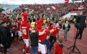 Уникалната радост от съблекалнята на ЦСКА