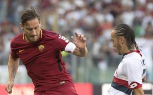 Сълзи за Тоти, Шампионска лига за Рома