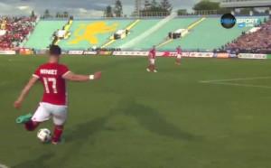 Първият гол на Симао срещу Левски
