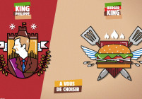 Верига за бургери се подигра на белгийския крал
