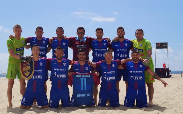 Спартак Варна в Шампионската лига по плажен футбол