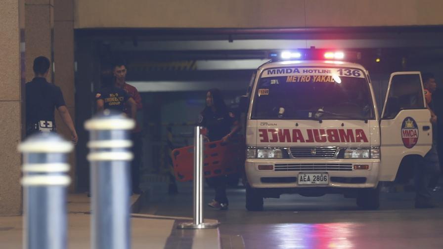 34-ма намериха смъртта си в Манила стъпкани или задушени