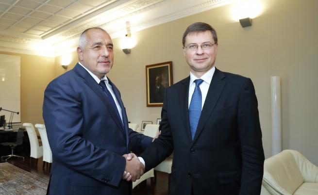 Домбровскис връчи официално на Борисов плановете за еврозоната