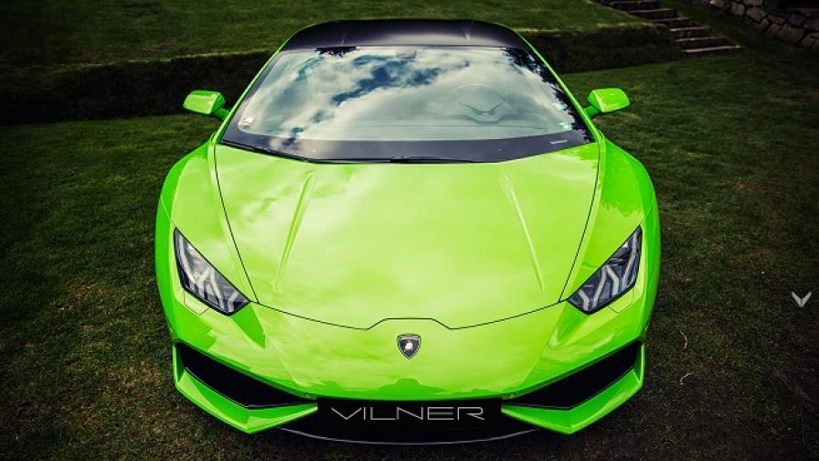 """Huracаn """"Verde Mantis"""", какъвто трябва да бъде, но от Vilner"""