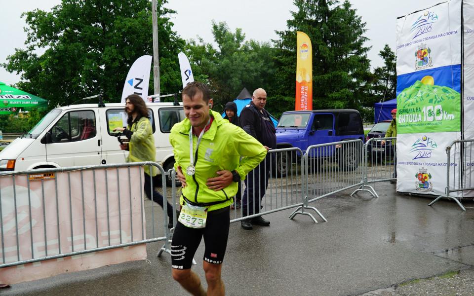 Андрей Гридин спечели Обиколката на Витоша при кошмарни условия
