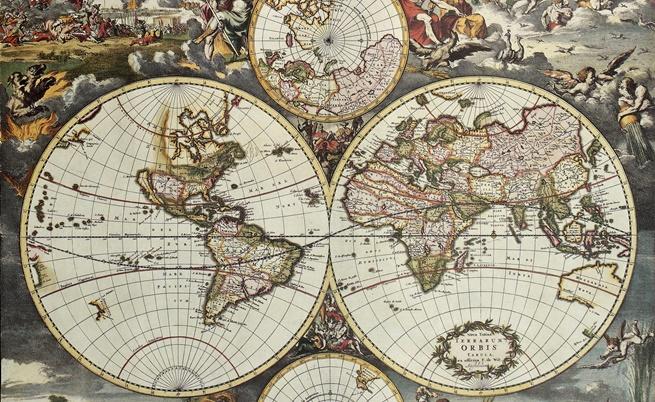 Стари карти на света ни разкриват представата за него през вековете