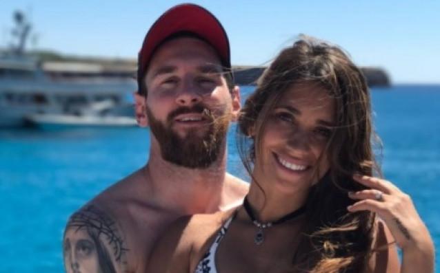 Меси и Антонея източник: instagram.com/leomessi