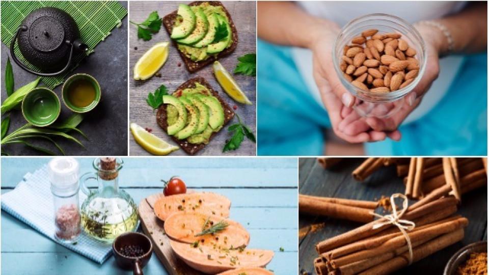 Тези 8 храни и напитки регулират кръвната захар