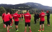 ЦСКА проведе първа тренировка в Австрия