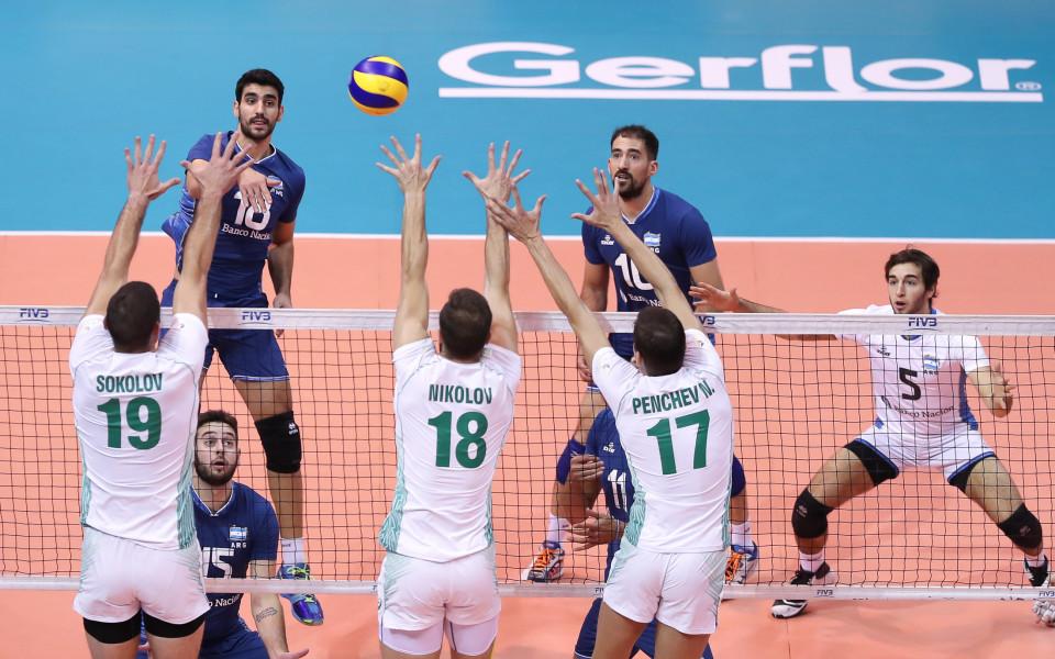 Няма финали за България, Аржентина ни изхвърли от Световната лига
